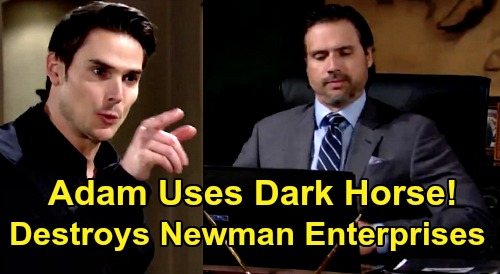 The Young and the Restless Spoilers: Adam Retaliates Against Victor & Nick's CEO Betrayal - Resurrects Dark Horse, Destroys Newman Enterprises?