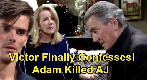 The Young and the Restless Spoilers: Victor Confesses to Nikki – Reveals Adam's Shocking Guilt, True AJ Murder Story