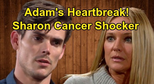 The Young and the Restless Spoilers: Adam's Wake-Up Call, Sharon's Cancer Shocker – Tugs At Newman CEO's Heart Strings