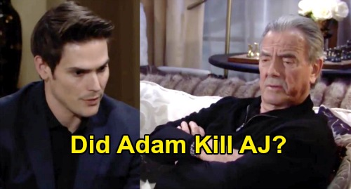 The Young and the Restless Spoilers: Adam & Chelsea's Revenge Plan Backfires - Did Adam Kill AJ Montalvo As A Young Child?