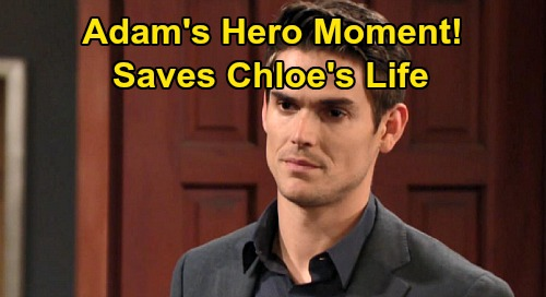 The Young and the Restless Spoilers: Chloe's Ominous Hint Sets Up Adam's Hero Moment – Chelsea's Worst Nightmare Coming?