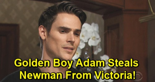 The Young and the Restless Spoilers: Golden Boy Adam Steals Newman Throne from Victoria – Victor's Favorite Wins Again, Starts War
