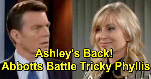 The Young and the Restless Spoilers: Ashley's Surprise Visit from Jack in Paris – Phyllis Crisis Brings Bold Abbott Moves