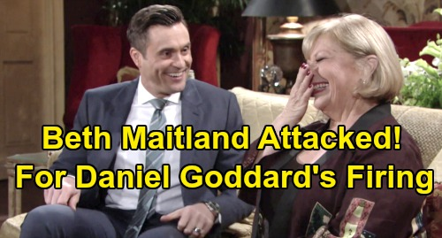 The Young and the Restless Spoilers: Beth Maitland Unfairly Attacked Over Daniel Goddard's Firing – Y&R Star Shuts Down Blame Game
