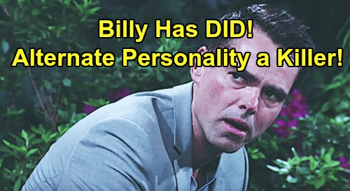 The Young and the Restless Spoilers: Billy's DID Personality Tries To Kill Adam - Suffering From Dissociative Identity Disorder