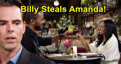 The Young and the Restless Spoilers: Billy's Passion Unleashed - Steals Amanda Away From Nate?