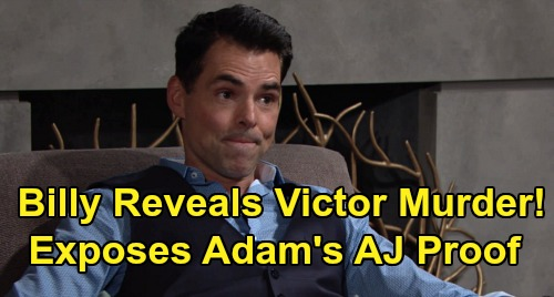 The Young and the Restless Spoilers: Billy Exposes Victor's Murder Secret, Reveals Adam's AJ Proof – Shocking Newman Takedown?