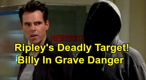 The Young and the Restless Spoilers: Billy Is Ripley's Deadly Target - Amanda's Abusive Ex's Dark Mission Turns Violent?