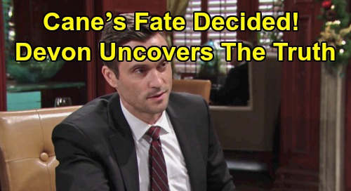 The Young and the Restless Spoilers: Cane's Fate Decided as Devon Uncovers the Whole Truth – Will Cane Be a Hero or a Villain?