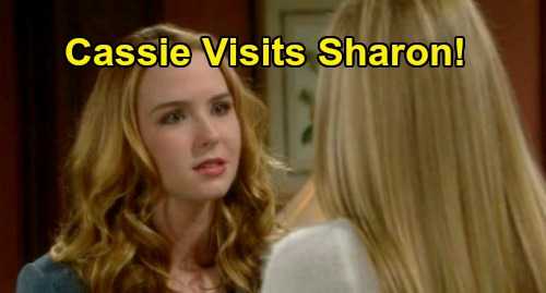 The Young and the Restless Spoilers: Cassie Returns to Support Sharon – Mom Reunites with Dead Daughter's Spirit for Cancer Fight