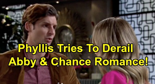 The Young and the Restless Spoilers: Phyllis Destroys Abby & Chance's Budding Romance - Reveals Las Vegas Secret?