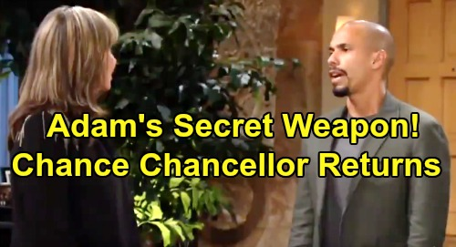 The Young and the Restless Spoilers: Chance Chancellor Adam's Secret Weapon – Katherine's Contested Will Brings Recast?