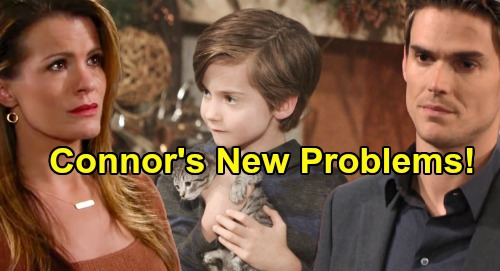 The Young and the Restless Spoilers: Connor's Emotional Problems Not Solved - More Difficulties After Adam & Chelsea Reunion?