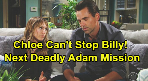 The Young and the Restless Spoilers: Billy's Next Deadly Move – Chloe Can't Stop Alter's Fatal Adam Mission