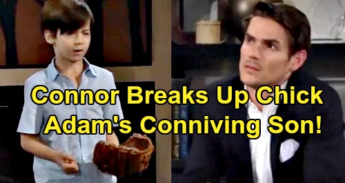 The Young and the Restless Spoilers: Conniving Connor's Parent Trap, Sabotages Chelsea and Nick Romance – Adam's Son the Schemer