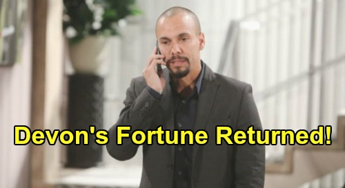 The Young and the Restless Spoilers: Devon's Fortune Finally Returned – Finds True Closure, Cane's Honesty Revealed