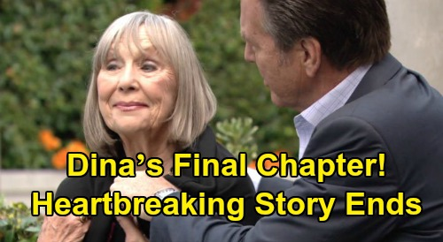 The Young and the Restless Spoilers: Dina's Final Chapter Begins – Heartbreaking End to Alzheimer's Storyline, Abbott Family Sorrow?
