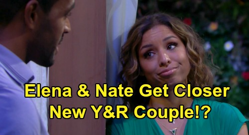 The Young and the Restless Spoilers: Nate & Elena's Blossoming Friendship Pushes Boundaries - Will They Wind Up Together?