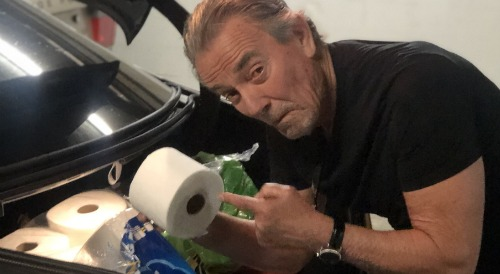 The Young and the Restless Spoilers: Eric Braeden Scores Toilet Paper Purchase - Shares Hilarious Photo