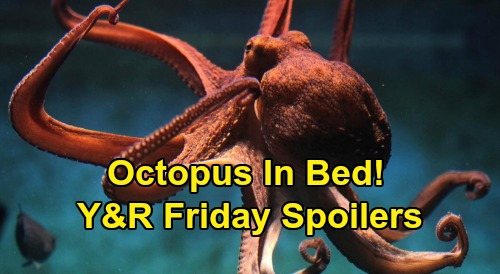 The Young and the Restless Spoilers: Friday, April 24 – Sharon's Baby News - Phyllis Plants Octopus in Christine's Bed