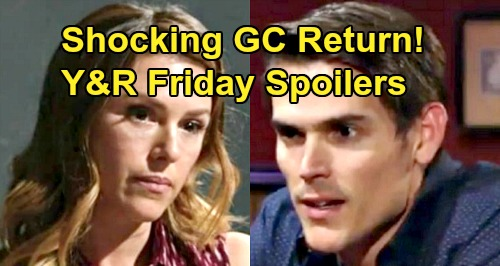 The Young and the Restless Spoilers: Friday, August 23 – Shocking GC Comeback – Victor and Michael Face Off – Rey Finds Resolution