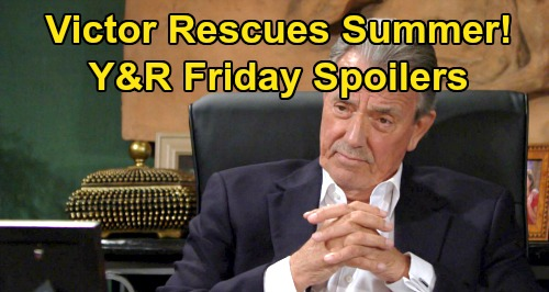 The Young and the Restless Spoilers: Friday, August 30 – Victor Rescues Summer from Danger - Vengeful Chelsea Rages at Chloe