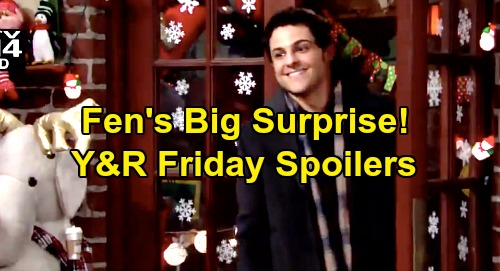 The Young and the Restless Spoilers: Friday, December 27 – Mariah & Tessa Stop Christmas Eve Disaster – Fen's Surprise – Jack's Gift
