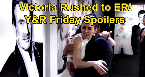 The Young and the Restless Spoilers: Friday, February 21 – Bleeding Victoria Rushed to Hospital – Victor Wants Ripley and Billy to Pay
