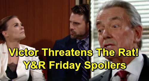 The Young and the Restless Spoilers: Friday, February 22 – Phyllis' Betrayal Crushes Nick – Victor's Fierce Death Threat