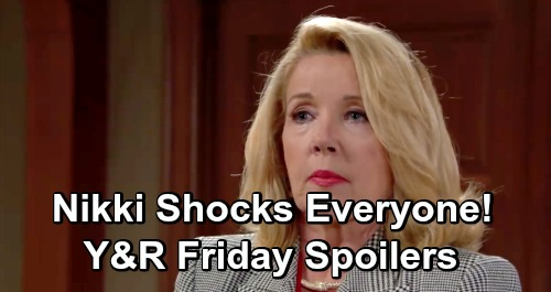 The Young and the Restless Spoilers: Friday, February 8 – Nikki's Shocker Derails Victor's Trial – Genoa City Media Spectacle