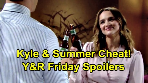 The Young and the Restless Spoilers: Friday, January 24 – Summer and Kyle Cheat on Lola - Amanda Shuts Billy Down, For Now