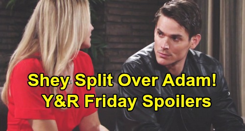 The Young and the Restless Spoilers: Friday, July 26 – Rey and Sharon Breakup Over Adam – Phyllis Mulls Over Proposal