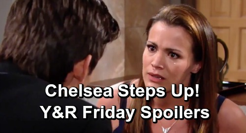 The Young and the Restless Spoilers: Friday, June 28 – Chelsea's Return Shocks Adam and Nick, Breaks Up Vicious Fight