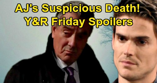 The Young and the Restless Spoilers: Friday, March 20 – Adam Hot on Victor's Trail, AJ Suspicious Death - Victoria Sneaks Out