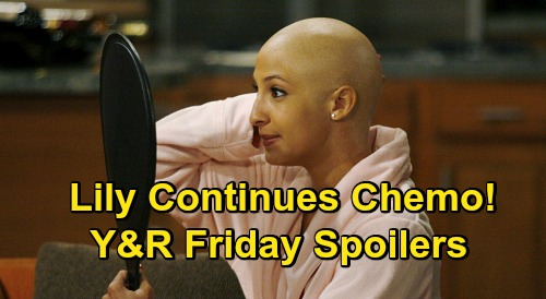 The Young and the Restless Spoilers: Friday, May 29 - Sarah Assumes Lauren's Identity - Lily To Continue Chemotherapy