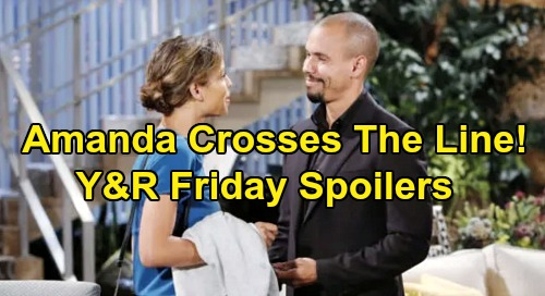 The Young and the Restless Spoilers: Friday, October 11 – Victor & Nikki's Secret Plan – Amanda's Growing Threat – Jill Blows Her Top