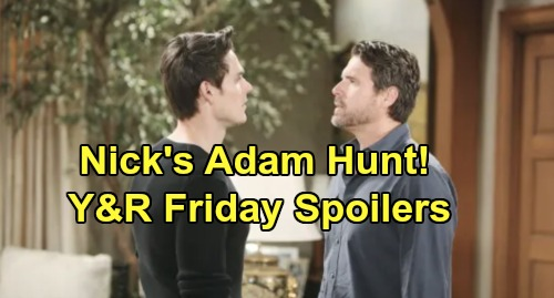The Young and the Restless Spoilers: Friday, October 18 – Cane's Shocking Discovery, Chance Answers – Nick's Vegas Trip Brewing