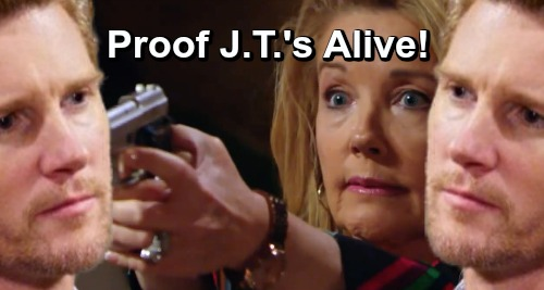 The Young and the Restless Spoilers: Startling Proof That J.T.'s Alive – Nikki Faces the Dangerous Man She Took Down