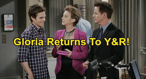 The Young and the Restless Spoilers: Judith Chapman Returns as Gloria - Christian LeBlanc Reveals Kevin and Michael's Mom Taping Y&R Again