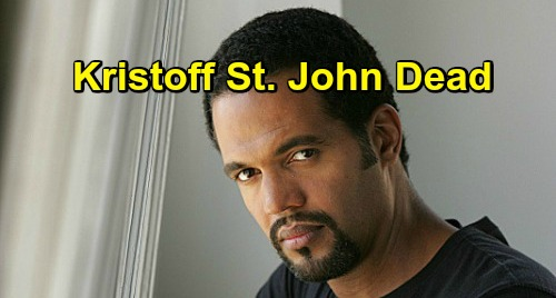 'Young and the Restless' star Kristoff St. John dies at 52
