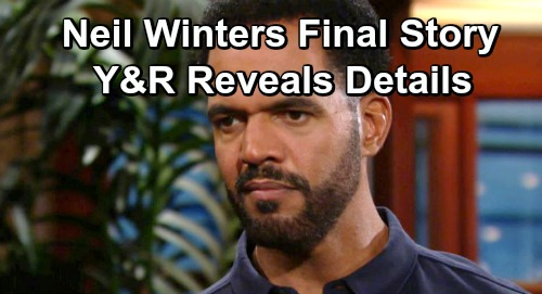 The Young and the Restless Spoilers: Neil Winters Final Goodbye Story Revealed – Y&R Pays Tribute To Kristoff St. John