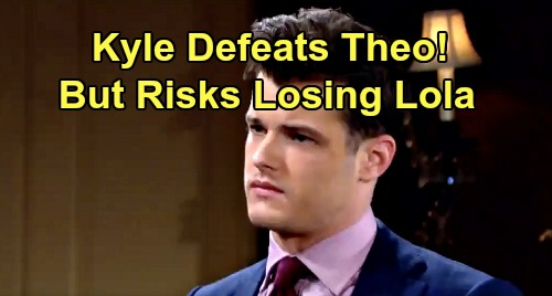 The Young and the Restless Spoilers: Kyle's Sabotage Plot Backfires – Defeats Theo But Provokes Lola Backlash?