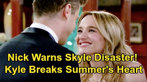 The Young and the Restless Spoilers: Nick & Phyllis Predict 'Skyle' Disaster – Will Kyle Play with Summer's Heart Again?