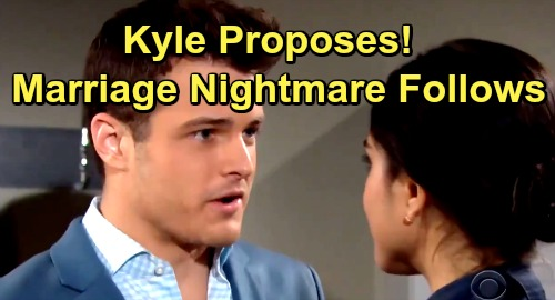 The Young and the Restless Spoilers: Kyle and Lola Engagement Nightmare - Summer and Celeste Work To Split Kola