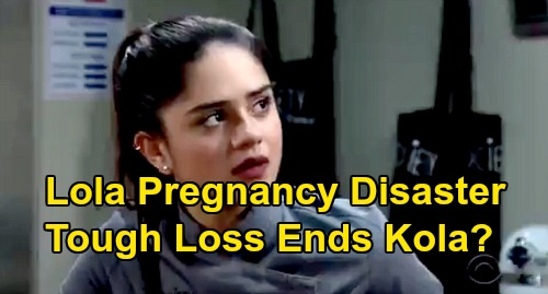 The Young and the Restless Spoilers: Miscarriage Ahead for Pregnant Lola – Tough Loss Ends Kola, Pushes Kyle Back to Summer?
