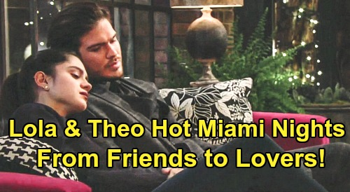 The Young and the Restless Spoilers: Lola & Theo's Hot Miami Nights – Leap From Friends To Lovers On Dream Restaurant Trip?