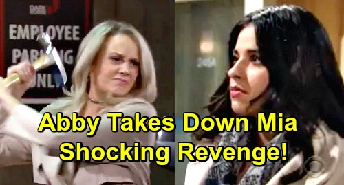 the young and the restless spoilers mia rosalaes noemi gonzalez abby newman melissa ordway
