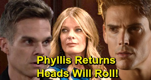 The Young and the Restless Spoilers: Phyllis's Vengeful Comeback – Michelle Stafford Returns To Genoa City, Heads Will Roll