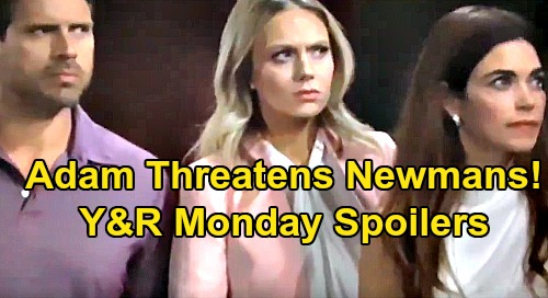 The Young and the Restless Spoilers: Monday, August 26 – Phyllis and Adam's New Plot – Victor's Strategy Session Derailed