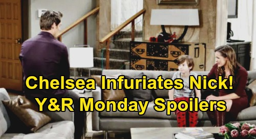 The Young and the Restless Spoilers: Monday, December 2 – Chelsea's Bold Move Infuriates Nick - Devon's Colin Search Gets Underway